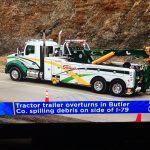 ferra's tow truck on the news