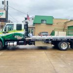 ferra's flatbed tow truck